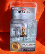 Wizkids Dungeons and Dragons Attack Wing Expansion Sun Elf Wizard Board Game