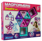 Magformers Inspire 30 piece set Multi-Coloured
