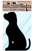 Moulding Mates Puppy Pack 3 Moulding Mates Home Decor Peel and Stick Vinyl Wall Decal Stickers