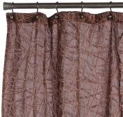 Editex Home Textiles Cosmo Shower Curtain, 180cm by 180cm , Burgundy