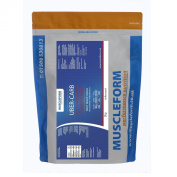 Muscleform UBER-CARB Waxy Maize Starch 2 x 2kg Resealable Pouch - Fast Delivery