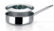 Sitram Pro 1 24 cm Sautepan With Lid