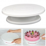 Ardisle Cake Turntable 28cm Decorating Rotating Revolving Icing Display Stand Holder