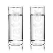 Viva Scandinavia 9110140 2 Tumblers Double-Walled Borosilicate Glass Transparent 15.8 cm