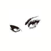 Removable Decals Sexy Eyes Wall Posters Sticker Room Decor PVC 50X95CM