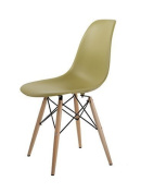 HNNHOME Eames Inspired Eiffel DSW Dining Plastic Chairs Modern Lounge Office Furniture