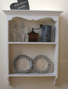 french bookcase country style white 60cm