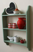 Shabby chic bookcase Breakfast Room green