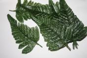 25 fern leaves artificial flowers foliage greenery
