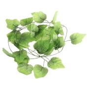 12x Artificial Vine Plant Grape Leaf Vine for Home Garden Decoration