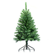 1.2m Artificial Green Christmas Tree Indoor Xmas Decoration Easy Fold Branch NEW