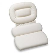 Luxury Spa Three-Panel Bath Pillow, Large