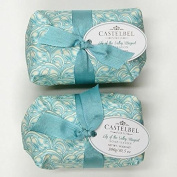 Castelbel Lily of the Valley Luxury Soap from Portugal - set of two