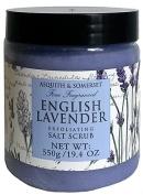 Asquith & Somerset English Lavender Exfoliating Salt Scrub 570ml From England