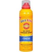 Gold Bond No Mess Powder Spray Fresh Scent With Aloe, Fresh Scent With Aloe 210ml