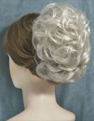 HAYLEY Clip On Hairpiece Grey - 60 Silver White