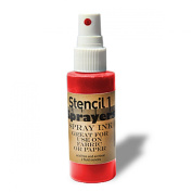 Stencil1 Sprayers Day-Glow Colours 60ml-Red