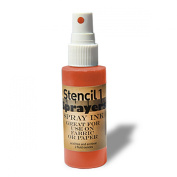 Stencil1 Sprayers Standard Colours 60ml-Orange