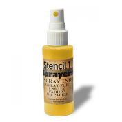 Stencil1 Sprayers Standard Colours 60ml-Yellow