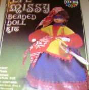 Walco Holiday Lil Missy Beaded Doll Kit Pirate #13407