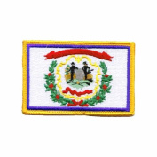 Online Stores, Inc. West Virginia Embroidered Patch