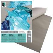 Art Alternatives Grey Paper Palette Pads - 30cm x 41cm 40 Sheet Pad