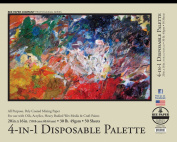 Bee Paper 4-In-1 Palette Pad, 16-Inch by 20-Inch
