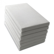 LWR Crafts Mini Stretched Canvas 7.6cm X 13cm Pack of 6