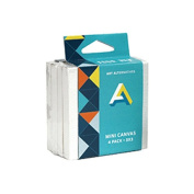 Art Alternatives Mini Canvas 3X3 4-Pack