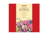 Mungyo Water-Soluble Oil Pastel Set of 24 - Assorted Colours