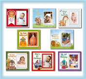 Baby's First Year Picture Frame Gift Set and Nursery Decor