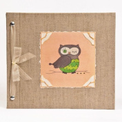 Hugs and Kisses XO Owl Baby Memory Book