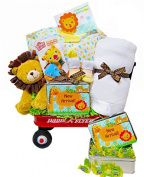Jammin' in the Jungle   Welcome New Baby Gift Waggon