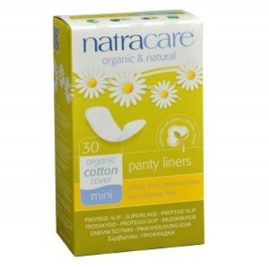 Organic Mini Breathable Panty Liners (30 Units) 2 Packet