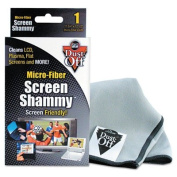 Flat Screen Dry Shammy, 12 1/2 x 12, Canister, Sold as 1 Each