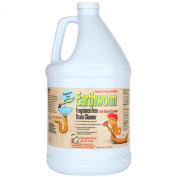 Earthworm® Fragrance Free Drain Cleaner - Drain Opener - Natural Enzymes, Environmentally Responsible, Safer for Pets and Kids - 3.8l