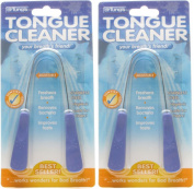 Dr. Tung's Tongue Cleaner, Stainless Steel, Pack of 2
