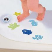 10 Bath Kids Safety Appliques Anti-slip Tub Shower Textured Sticker
