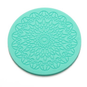 Lace Cake Embossing Silicone Mould Icing Sugarcraft Mould