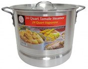 22.7l Tamale Steamer Vaporera Stock Pot Premium Aluminium Tamalera 22.7ls