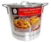 37.9l Tamale Steamer Vaporera Stock Pot Premium Aluminium Tamalera 37.9ls