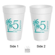 Styrofoam Party Cups - It's 5 O'clock Somewhere