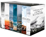 A Game of Thrones Song of Ice and Fire Box Set of All 7 Books -George R.R.Martin