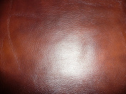 30cm by 30cm Beautiful Chestnut Reddish Brown Marbled SOFT Cowhide KING Leather