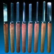 8 Piece Wood Turning Lathe Chisel Set Wood Chisels Tool Set Spindle Bowl Turning Wood Working