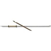 Lacis 1mm Verna Straight Beadle Needle, 7.5-Inch