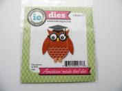 Impression Obsession Craft Die Owl Graduation