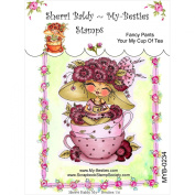 My-Besties Clear Stamps, Fancy Pants Your My Cup of Tea, 10cm by 15cm