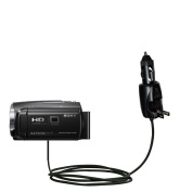 Unique Gomadic Car and Wall AC/DC Charger designed for the Sony HDR-PJ440 / HDR-PJ670 - Two Critical Functions, One Great Charger