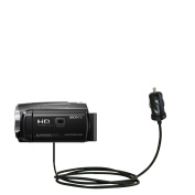 2 Amp (10W) Mini Car / Auto DC Charger Compatible with Sony HDR-PJ440 / HDR-PJ670 - Amazingly small and powerful 10W design, built with Gomadic Brand TipExchange Technology